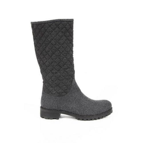 Versace 19.69 Abbigliamento Sportivo Milano ladies boots J02 TESSUTO GRIGIO