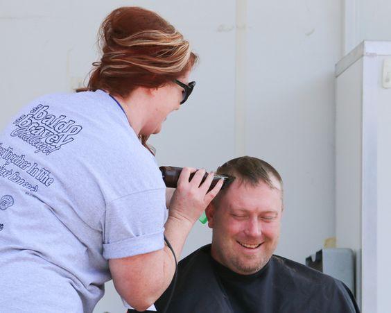 Shaving & cutting hair!