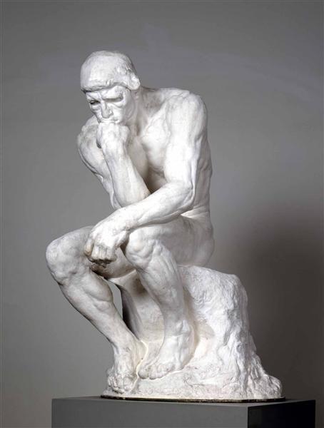 Skulptur im Neuen Albertinum Dresden: Auguste Rodin, Der Denker, 1881 - 1883