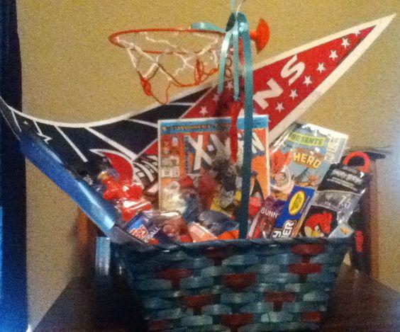 Texans sports basket!!