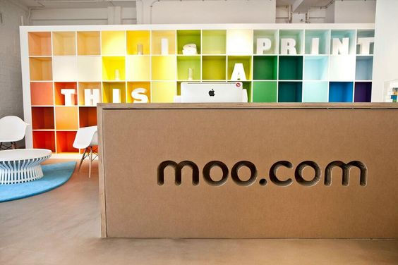 MOO's London, England Office | Designed by Trifle Creative