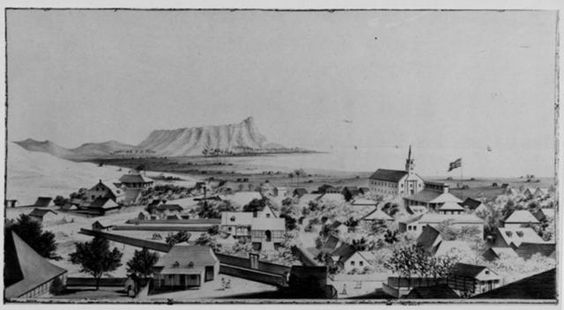 View of Honolulu from the Catholic Church, No. 2.