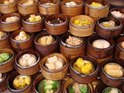 Chinese dim sum is the best choice for breakfast..