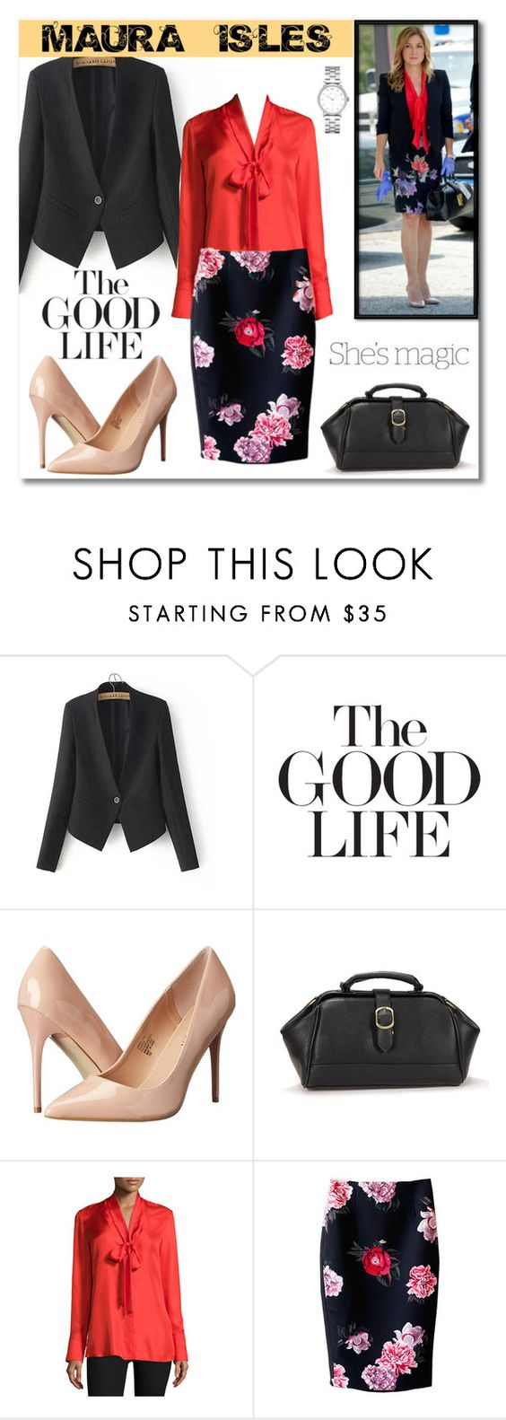 """maura isles style"" by lydiamarytin on Polyvore featuring moda, ADAM, Madden Girl, rag & bone, C/MEO COLLECTIVE, Marc by Marc Jacobs ve Nicole"