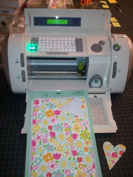 Cricut Fabrics And Appliques On Pinterest