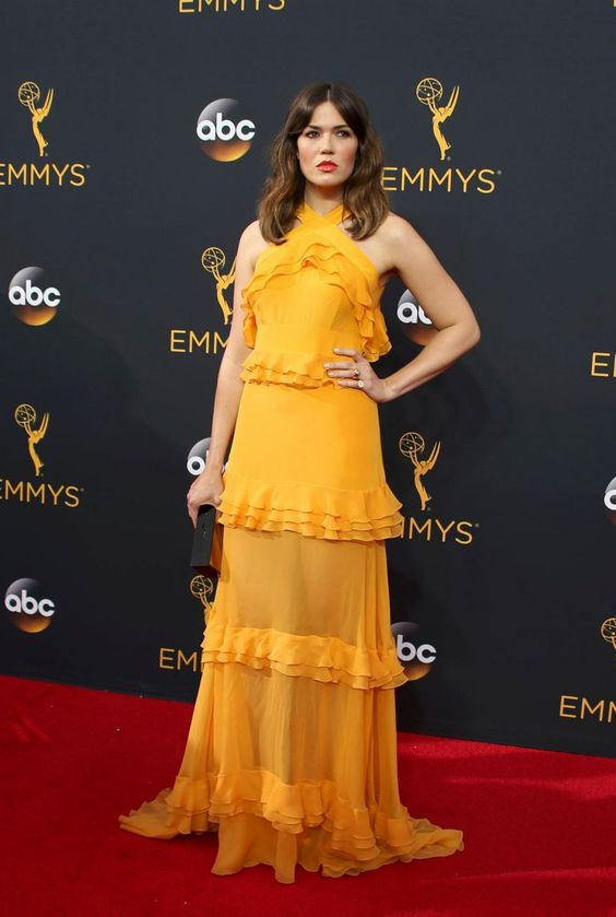mandy moore EN IMAGES. Emmy Awards 2016 : qui était la plus belle ?