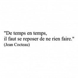 Citation Jean Cocteau