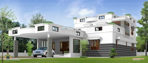 http://www.bebarang.com/innovative-design-modern-contemporary-house-plans/ Innovative Design, Modern Contemporary House Plans : Luxury Modern Home Plans Contemporary Home Design Sqft Kerala Home Design Modern Contem...