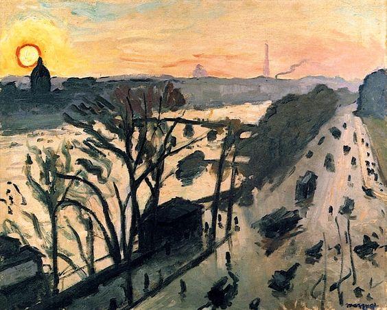 The Louvre Embankment, Albert Marquet 1905