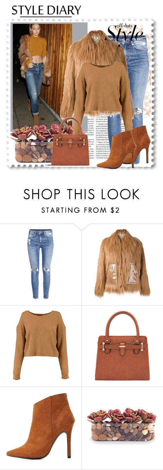 """gigi"" by sunshine-189 ❤ liked on Polyvore featuring H&M, MM6 Maison Margiela, Charlotte Russe and John-Richard"