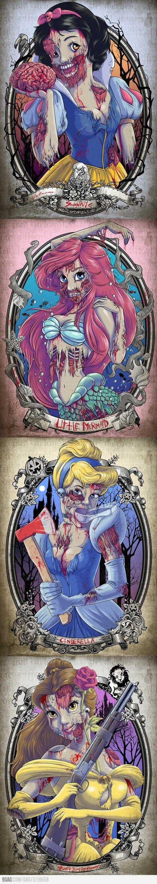 Zombie princesses   Di...