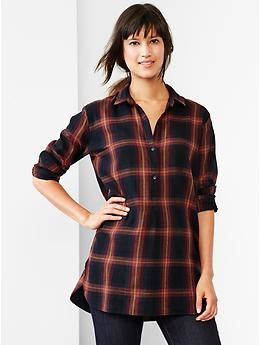 Plaid popover shirt | Gap