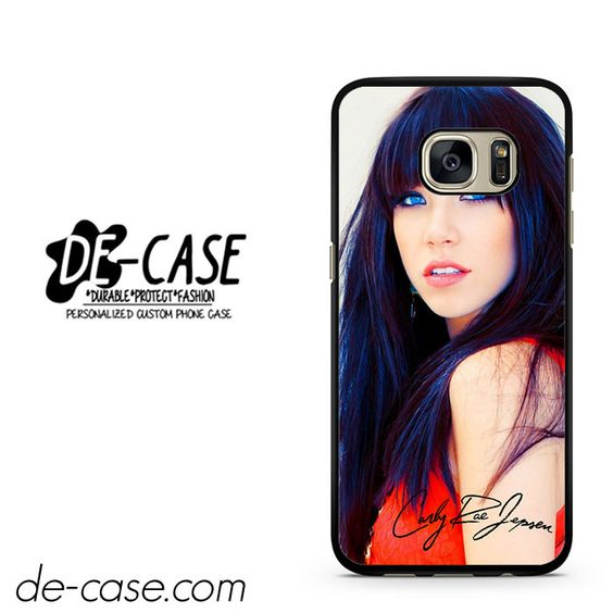 Carly Rae Jepsen Blue Eyes DEAL-2414 Samsung Phonecase Cover For Samsung Galaxy S7 / S7 Edge