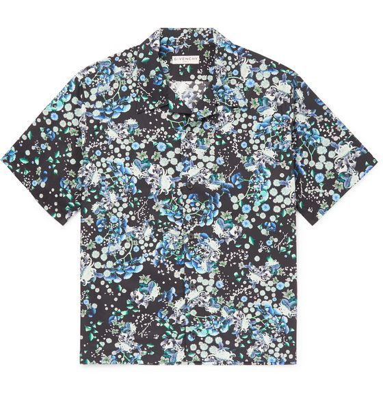 Top By Givenchy Designer Clothes For Men Cotton Shirt Shirts