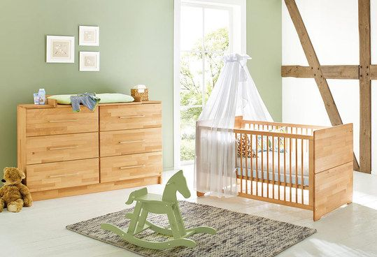 Pinolino Sparset Kinderzimmer Natura mit extrabreiter - pinolino babyzimmer design
