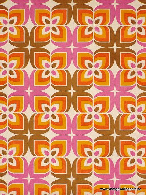 Funky pattern colour tissu ou papier peint j 39 aime la - Choix papier peint ...