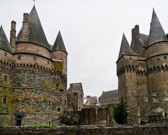 Vitré, le château: