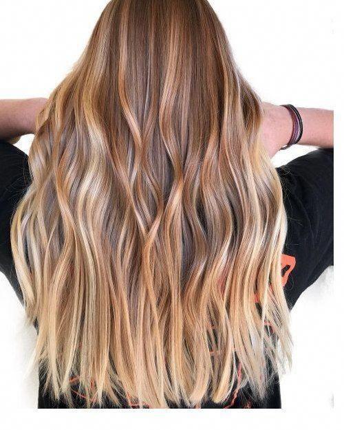 100 Wunderschone Frisuren Fur Langes Haar Haarfarben Hellbraune Haarfarbe Lange Haare