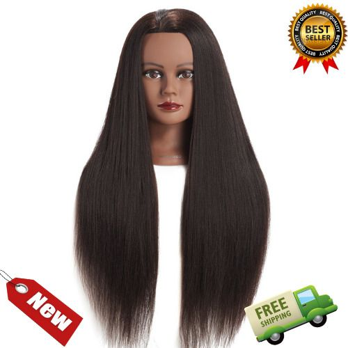 Pin On 26 28 Cosmetology Mannequin Head Human Hair Hairdressing Training Model Doll Hairginkgo