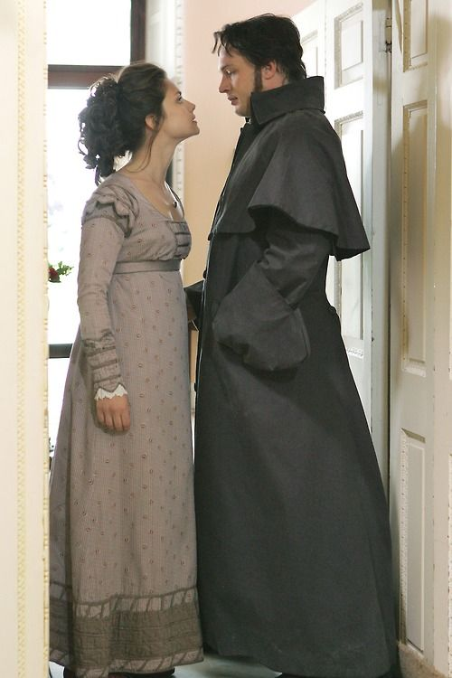 Charlotte Riley as Catherine Earnshaw and Tom Hardy as Heathcliff in Wuthering Heights (2009).