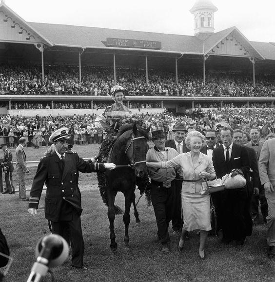 Carry Back- Jockey Johnny Sellers on the 1961 Kentucky Derby winner