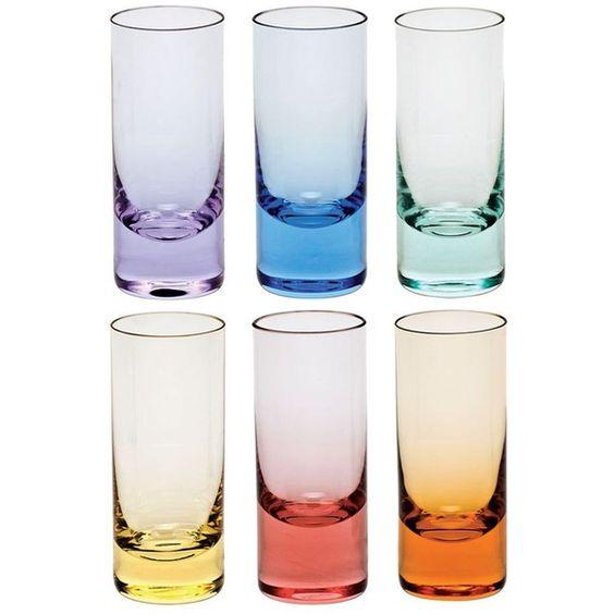 Moser Vodka Shot Glass, Set of 6