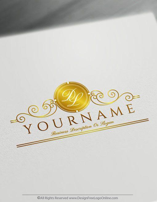Create Ornamental Letter Logo Design With The Best Monogram Maker