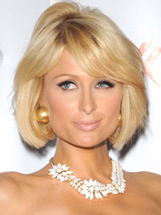 Paris Hilton Short Hairstyle Women
