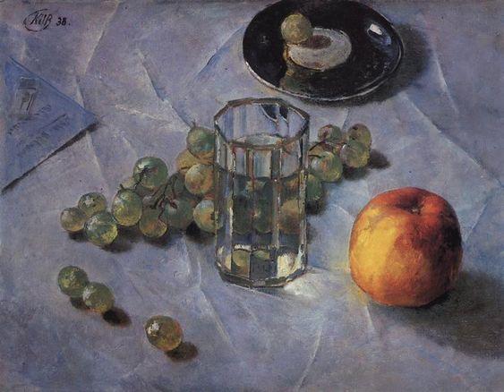 Петров-Водкин. Виноград. 1938