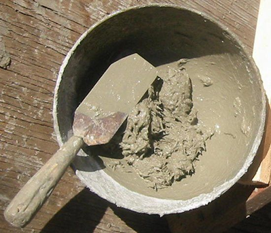 how to make ferrocement mix