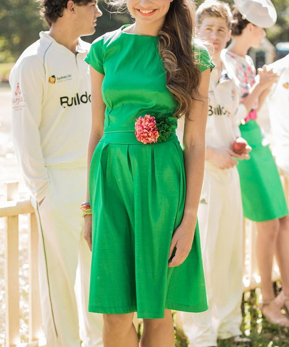 Look at this Shabby Apple Green Cap-Sleeve Dress - Women on #zulily today!