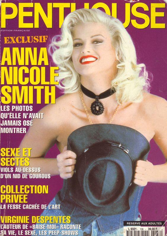Penthouse Francaise # 136 - Mai 1996  anna nicole smith