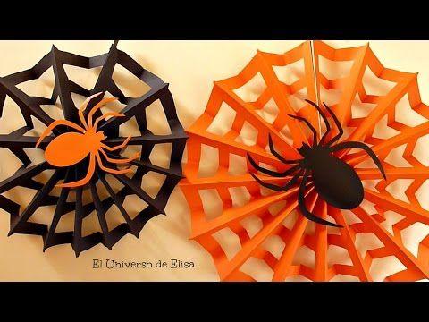 Decoraci n para halloween d a de los muertos tela de - Como hacer tela de arana ...