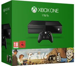 Product - Xbox One 1TB Console With Fallout 4, Wolfenstein The Old Blood, Fallout 4 Console Skin & 2 Month NOW TV Movies Pass
