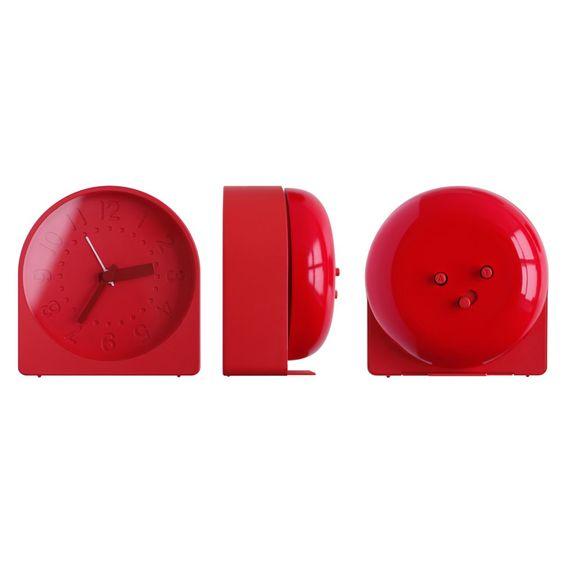Bell Alarm Clock by Sam Hecht for IDEA