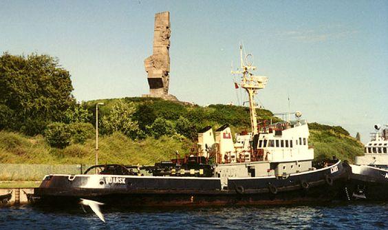 Westerplatte, harbor area where World War II started