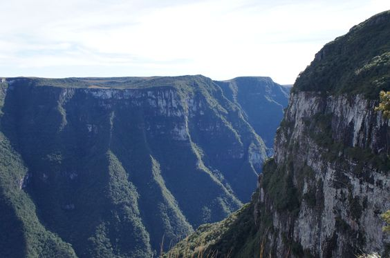 Canion da Fortaleza nos Aparados da Serra, Cambará do Sul, Rio Grande do Sul.