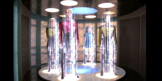 Star Trek téléportation