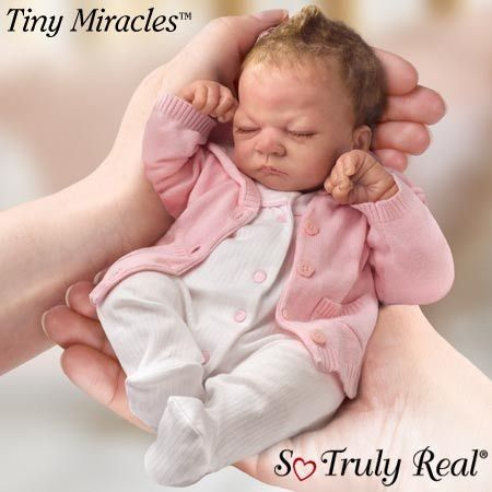 Awe Inspiring Baby Dolls That Look Real That Look Real Ashton Drake Tiny Largest Home Design Picture Inspirations Pitcheantrous