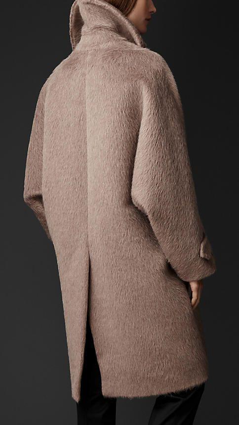 Japona descontraída de lã escovada | Burberry