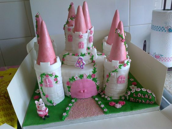 castle cake | 14. Sally Peppa Pig Castle Cake » Blog Archive » In a different ...