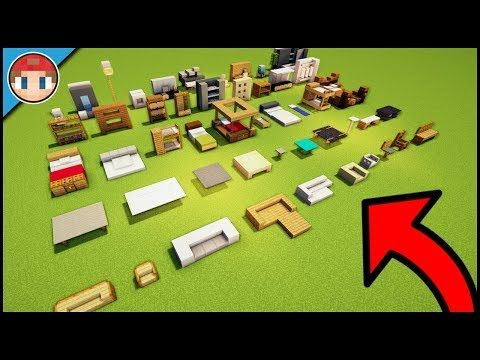 15+ Minecraft Furniture Ideas And Build Hacks - You Can Build As