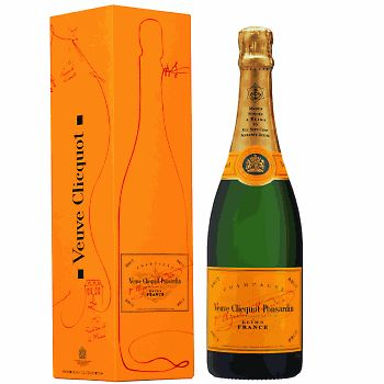 Keep the Veuve flowing at all times