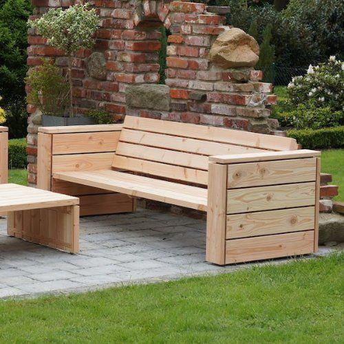 Lounge sofa outdoor holz  Edle Lounge & Gartenmöbel » TREIBHOLZ Gartenmöbel » Holz ...