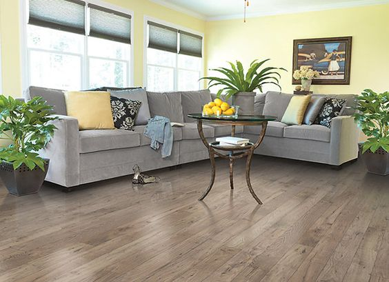 Light Brown And Gray Laminate Wood Floor For Living Room Design Nutmeg Ches