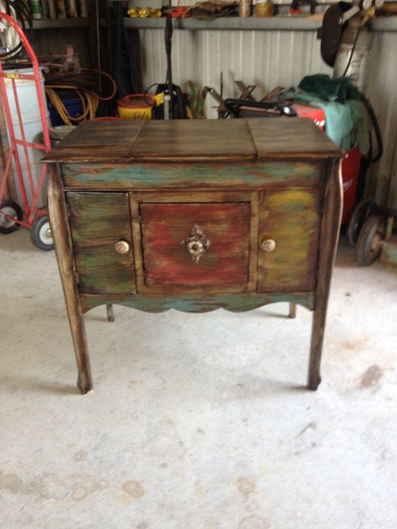 Repurposed antique victrola!!!
