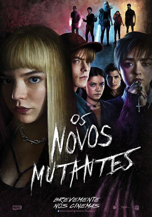 Os Novos Mutantes Estreia No Telecine Na Sexta Feira Em 2021 Novos Mutantes Filmes Completos Filmes