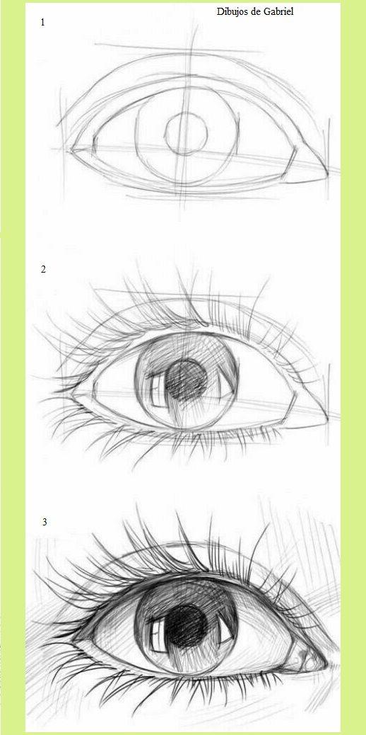 Dibujos De Rostros Realista A Lapiz En Papel How To Draw Dibujos De Gabriel Dibujos De Ojos Como Dibujar Ojos Tutoriales De Dibujo De Los Ojos