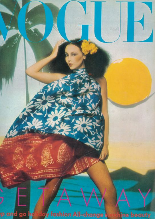 Marie Helvin - Vogue UK May 1974