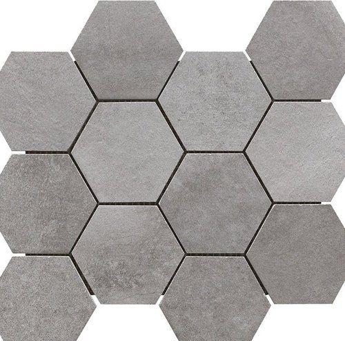 motion grey hex mosaic 2 gray hex